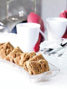 Pähkinäiset viipalepiparit | K-ruoka #joulu #piparkakut