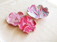 Marbled Clay Sp'RING' Flower Dish – Juju Sprinkles