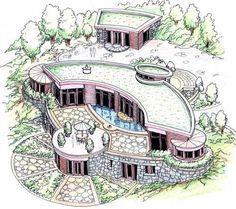 Fractal Structure-Michael Rice- Biological Architecture -Biologic Architecture - Bio Architecture