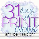 31 Days of Printables
