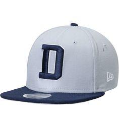 742069fc62c Men s Dallas Cowboys New Era Gray Navy 2T Southside 9FIFTY Adjustable  Snapback Hat