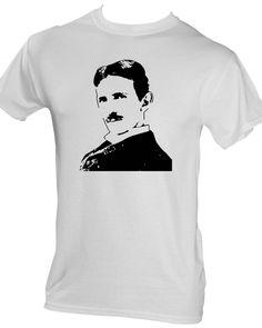 Nikola Tesla Nikola Tesla, Mens Tops, T Shirt, Fashion, White Shirts, Supreme T Shirt, Moda, Tee Shirt, Fashion Styles
