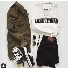 Untitled Item by - Snupps Girls Fashion Clothes, Teen Fashion Outfits, Edgy Outfits, Retro Outfits, Outfits For Teens, Fashion Mumblr, Tomboy Fashion, Cute Comfy Outfits, Cool Outfits