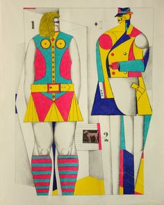 (From Graphics USA), by Richard Lindner. A successful illustrator for Vogue and Harper's Bazaar, Richard Lindner took up . Vintage Comic Books, Vintage Comics, Bizarre Art, Comic Book Style, Art Fair, Collage Art, Illustrations Posters, Art Museum, Graphic Art