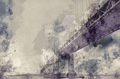 Suspension bridge by alexartro.deviantart.com on @DeviantArt