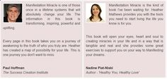 Manifestation miracle reviews testimonials and success stories