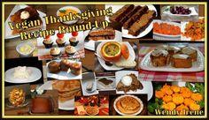 22 Vegan Thanksgiving Recipes! #vegan #holiday #dinner #recipes #Thanksgiving #vegetarian #meals