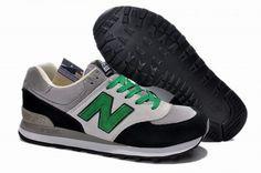 2014 Joe New Balance M574 Grey Green Black Mens Shoes