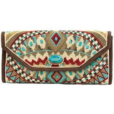 Shop Mary Frances Turquoise Power Handbag at pintoranch.com. Enjoy FREE Shipping over $100.
