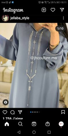 Bead Embroidery Patterns, Beaded Embroidery, Glamour Cake, Morrocan Fashion, Moroccan Caftan, Caftans, Couture, Pretty Outfits, Fashion Dresses