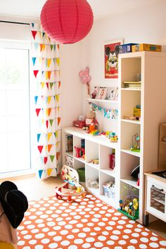 Baby Decor Room Montessori Bedroom Ideas For 2019 Baby Room Decor, Bedroom Decor, Bedroom Ideas, Nursery Ideas, Bedroom Furniture, Ikea Kallax Shelving, Shelving Units, Playroom Design, Playroom Ideas