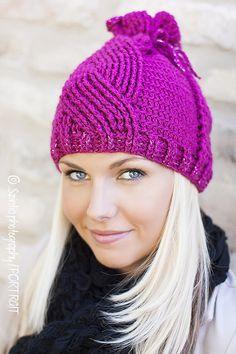 Ravelry: Audrey Hat Beanie by Viktoria Gogolak