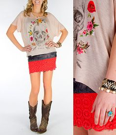 'No Way Crochet' #buckle #fashion www.buckle.com