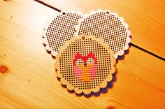 Wooden Cross Stitch Pendant or Keyring Blank