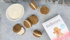 Foodstirs Organic Very Merry Gingerbread Cookie Mix Whoopie Pie