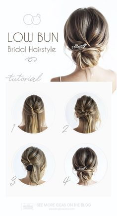 30 Timeless Bridal Hairstyles ♥ If you're still looking for a great hairstyle for your wedding, take a moment to consider these wonderfully simple and elegant styles. #wedding #bride #weddingforward #bridalhair #braidtutorial #valentinesdayhairstyles
