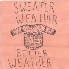 #sweater weather...