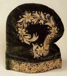 Kazan Hat tatar women Green