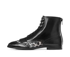 Animalier ankle boots