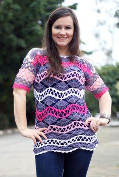 Crochê de grampo Hairpin Lace Horquilla Ganchillo Crochet