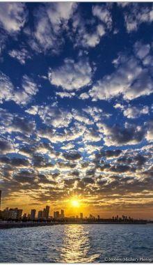 Marina Sunset Kuwait