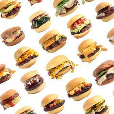 100 Ways to Top a Burger -- Delish