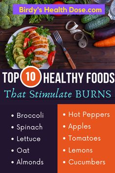 As I said other times, slow metabolism is not just an excuse invented by people who don't have a will to lose weight. It is ideal to change the way of life, but it also helps if you introduce certain foods in the diet that have the property of stimulating burns.
