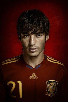 David Silva (Spain) - half Canarian, partly Japanese