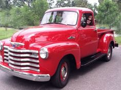 1954 Chevy Pickup 3100. I secretly wish for a truck like this.