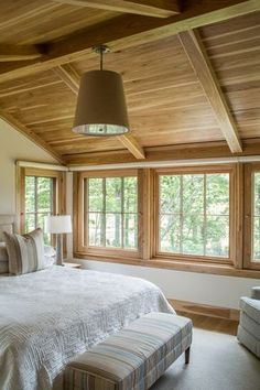 Home Bedroom, Bedroom Decor, Timber House, Cabin Homes, Dream Rooms, House Rooms, My Dream Home, Sweet Home, New Homes