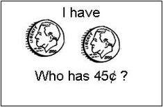 Great ideas to practice counting a collection of coins!