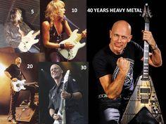 Wolf Hoffmann 40 years heavy metal 1976-2016