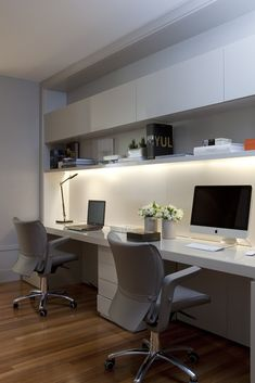 Beautiful and Subtle Home Office Design Ideas — Best Architects & Interior Des. CLICK Image for full details Beautiful and Subtle Home Office Design Ideas — Best Architects & Interior Designer in Ahmedabad NEOTECTUR. Home Office Space, Home Office Decor, Home Decor, Office Ideas, Office Setup, Men Office, Small Home Offices, Office Workspace, Small Office Decor