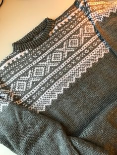 Made by Inger Johanne Wilde Knitting Stitches, Yin Yang, Knit Patterns, Old And New, Norway, Weaving, Vest, Crochet, How To Make