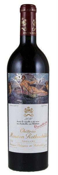 2010 Mounton-Rothschild. Type: Red Wine, Bordeaux Red Blends (Claret), Premier Cru (First Growth), 750ml. Region: France, Bordeaux, Pauillac. 610$ (15.250 Kc)