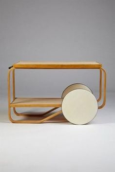 Alvar Aalto - tea trolley
