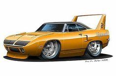 1970 Superbird NASCAR Super Stock 426 Hemi