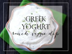 Yummy ranch veggie dip that incorporates greek yogurt instead of sour cream! Tastes delicious with only a few ingredients! www.theprimarilyinspired.com