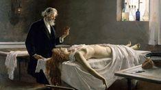 """Enrique Simonet: """"¡Y tenía corazón!"""" o """"La autopsia"""" (1890)"""