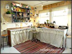 Fun office / craft space