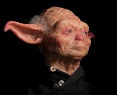 Hyperrealistic Sculpture Of Yoda