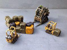 Full Spectrum Dominance: Infinity Terrain - CNC Workshop Vehicles Infinity The Game, They See Me Rollin, Model Hobbies, Wargaming Terrain, Warhammer 40000, Dungeons And Dragons, Hot Wheels, Workshop, Spectrum