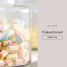 Colourtrend Paint, Sweet Jars, Interior Paint, Color Trends, Paint Colors, Sweet Home, Online Check, Hard Boiled, Marshmallows