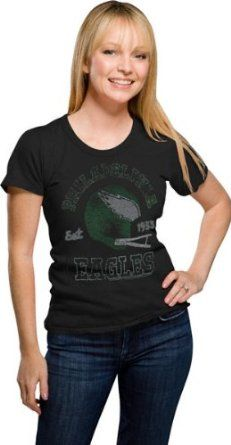 Junk Food NFL Philadelphia Eagles Vintage Tee Women's T Shirt