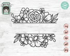 20 Best Border Svg Images In 2020 Svg Silhouette Cameo Projects Monogram Frame
