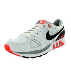 Nike Men's Air Stab /Black/Hot Lava Running Shoe