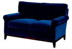 Perfection banquette, but sky high. Idea piece, keep looking.Beverly Velvet Sofa, Navy