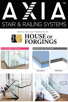 Stair and Railing Products Cable Railing, Stair Railing, Glass Railing System, Parts Of Stairs, Iron Balusters, Staircase Remodel, Modern Stairs, Smooth Lines, Home Builders