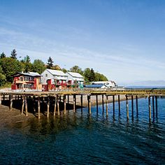 Langley, Washington | On the Weekend You Might:    Take the Keystone ferry to Port Townsend for the Wooden Boat Festival, hop another ferry to Orcas Island to hike Mount Constitution and get a margarita at Bilbo's Festivo, or drive to Mount Baker for skiing.