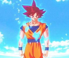 Boruto, Bleach, Naruto, One Punch Man, Dragon Ball Heroes Episode Online Dragon Ball Z, Goku Vs Beerus, Dbz Gif, One Punch Man Episodes, Otaku, Animation Reference, Son Goku, Illustration, Gifs